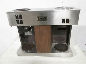 bunn Vps H d Commercial S s pour Over Coffee Brewer W 3 Pot Warmer Plates