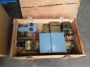New Millport 17 Lathe Or Equivalent Taper Attachment Complete Stillin Crate