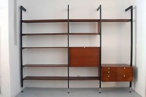 George Nelson Css Wall Unit Herman Miller Mid Century Modern Eames