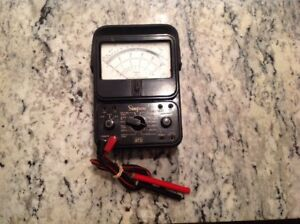 Vintage Simpson Model 270 Series 4 Volt Ohm Meter Working Free Shipping