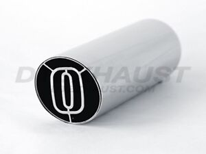Different Trends Num 35010sl Slant Cut Sleeve Insert Stainless Exhaust Tip