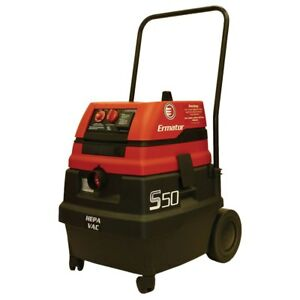 Ermator S50 14 Gallon Wet dry Self cleaning Hepa Vacuum 200800094a