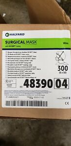 Halyard 48390 Tie on Surgical Mask White 6 X 50 Pk 300 Mask