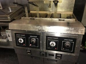 Henny Penny Double Well Deep Fryer