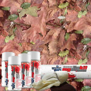 Hydro Dipping Hydrographics Printing Film Designer Dip Kit Real Leaf Camo Rc5103