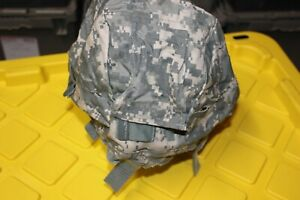 US Military Issue ACU Camouflage MICH ACH Helmet Cover SM