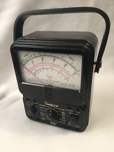 Vintage Simpson 260 Series Multimeter