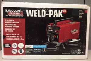 New Lincoln Electric Weld pak K2188 1 Flux cored Wire Feed Welder