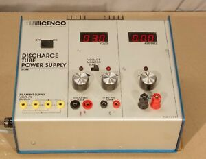 Cenco 31384 Discharge Tube Power Supply r24