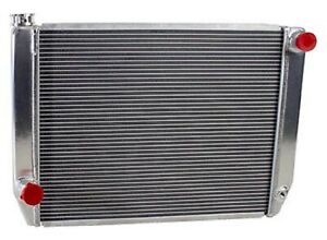 Griffin 1 26242 X Aluminum Universal Fit Radiator For Ford Dodge Racer