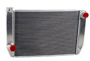 Griffin 1 26221 X Aluminum Universal Fit Radiator For Ford Dodge Racer