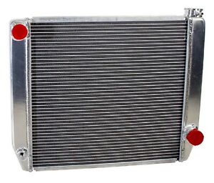 Griffin 1 25202 X Aluminum Universal Fit Radiator For Chevy Dodge Racer