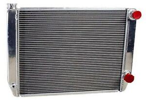 Griffin 1 28242 X Aluminum Universal Fit Radiator For Chevy Dodge Racer
