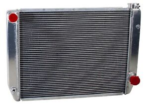 Griffin 1 25242 x Aluminum Universal Fit Radiator For Chevy Dodge Racer