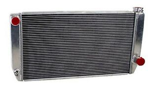 Griffin 1 25271 Xs Aluminum Universal Fit Radiator For Chevy Dodge Racer