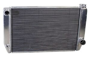 Griffin 1 25241 X Aluminum Universal Fit Radiator For Ford Dodge Racer