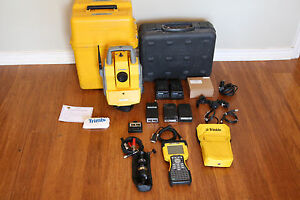 Trimble 5603 Dr200 2 4ghz 3 Robotic Survey Total Station 5600 W Tsc2 606