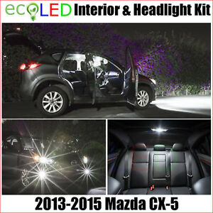 Led Interior H11 Low Beam Head Light Replacement Kit For 2013 2015 Mazda Cx 5