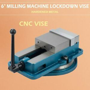 6 Milling Machine Vise Accurate Lockdown Bench Clamp Clamping Drilling