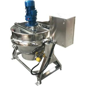 Steam Jacketed Manual Tilt Kettel Sauce Soup100l 26 5gallon New