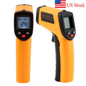 Portable Non contact Lcd Ir Laser Infrared Digital Temperature Thermometer Gun
