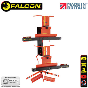 Sharkeye Falcon Laser 4 Wheel Alignment Gauges Tool Machine Uk Made Lc4wla