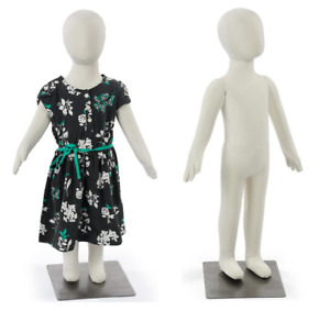 Set Of 2 Age 2 3 Bendable Pinnable Fabric Unisex Toddler Child Mannequin Forms