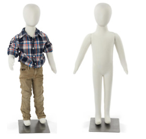 Set Of 2 Age 4 5 Bendable Pinnable Fabric Unisex Youth Child Mannequin Forms