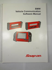 Snap On Bmw Scanner Vehicle Communication Software Manual 2004 Modis
