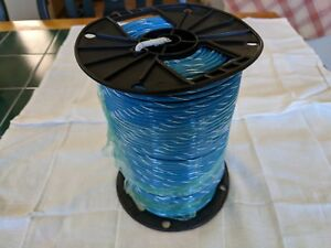 New 500ft Alan Wire Awg 10 Stranded Blue Wire Thhn 600v 90c Usa