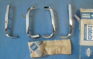 Nos 1966 Mercury Cyclone Grill Moldings Set Of 4