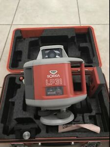 Sokkia Lp31 Rotating Surveying Laser In Perfect Working Condition Used Twice