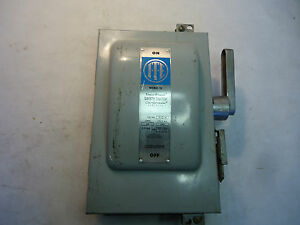 Ite Cat No F321h 30 Amp Safety Switch
