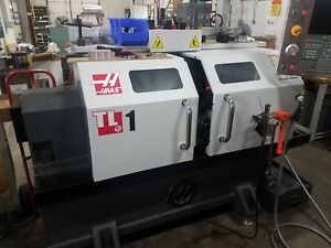 Haas Tl 1 Cnc Toolroom Lathe 2015 350 Spindle Hours Ips Tailstock See Video
