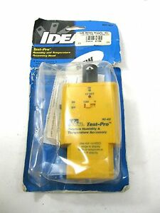 Ideal Test pro 61 437 Humidity Temperature Accessory Head 972 2 Discontinued