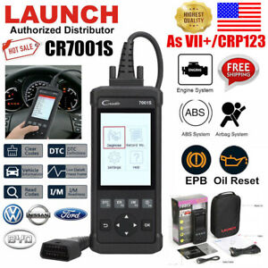 Launch 7001s Obs2 San Tool Car Diagnoses Scanner Tool Fault Code Reader Abs Ars