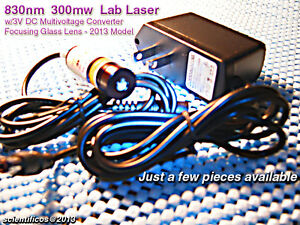 Powerful Focusing Module 830nm 300mw Lab Laser W 3v Multivoltage A c