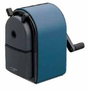 Uni Mitsubishi Hand Crank Pencil Sharpener Kh 20 Blue Desk Sharp Import Japan