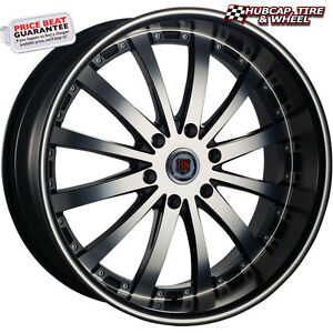 Red Sport Rsw77b Black Machined 26 x9 5 Custom Wheel one Rim Free Shipping