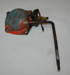 70234107 Allis Chalmers D15 Governor Housing And Lever Assembly