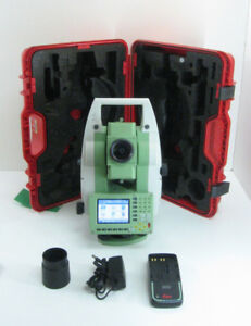 Leica Tcr1201 1 R1000 Total Station For Surveying One Month Warranty