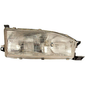 Right Side Headlight Assembly For Toyota Camry 1992 1993 1994