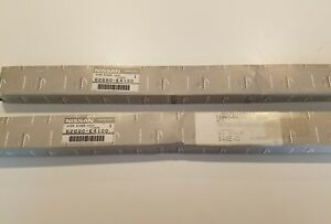 New Genuine Datsun 240z Front Bumper Rubber Strip Set Nos