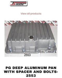 Tsi Powerglide Transmission Deep Aluminum Pan Kit