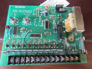 Mikropul Timer Dust Collector Board 72 Ic P n 132596 132596 a new