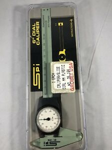 Spi 6 Inch Dial Calipers 31 414