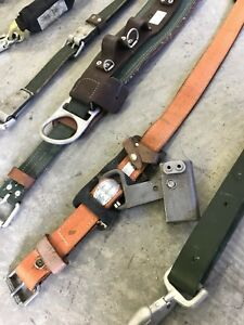 Vintage 1978 Klein Tools Model 5447 Climbing Safety Harness Belt