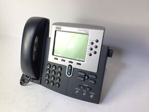 Lot Of 4 Cisco Cp 7960 Voip Ip Business Office Display Poe Phone 47 7762 01