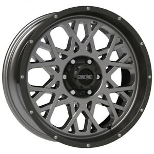 20 Inch Anthracite N Black Ram Rims 20x9 12mm 5x5 5 5x139 7 Set Of 4 Wheels