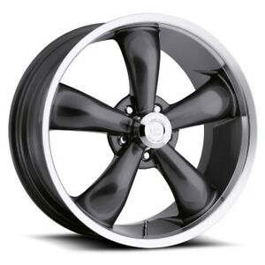 20 Inch Gunmetal N Machined Rims 20x8 5 10mm 5x5 5x127 Set Of 4 Wheels